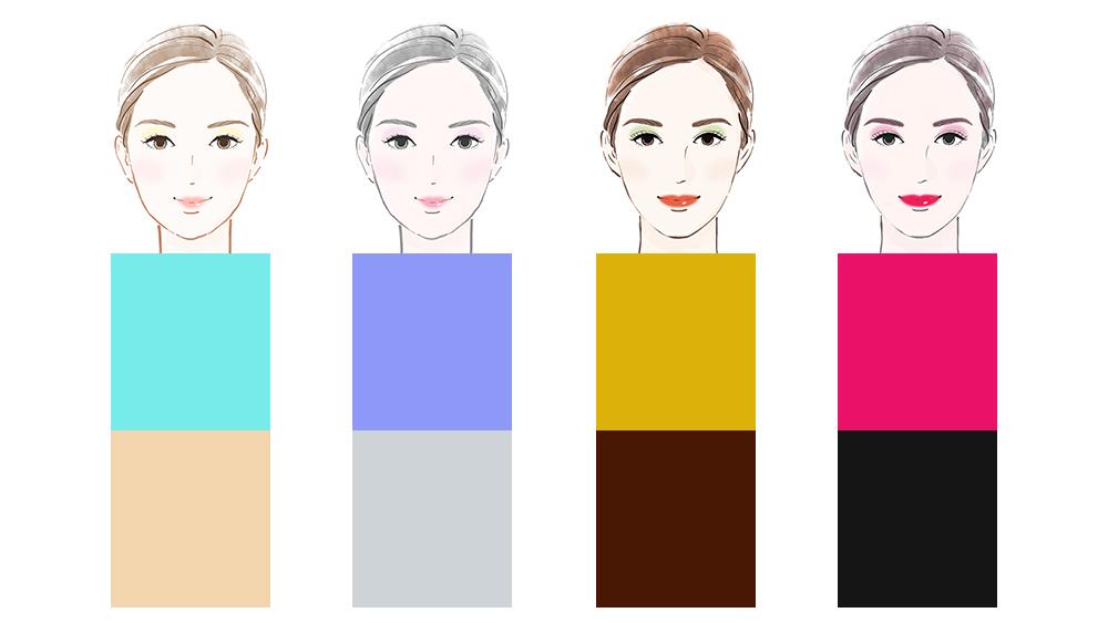 顔周り以外はパーソナルカラーでなくてもいい?