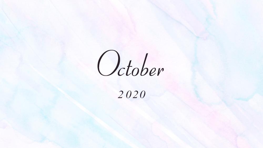 10月のご予約受付中です!